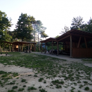 Leisure area Under the lodge Krasňany